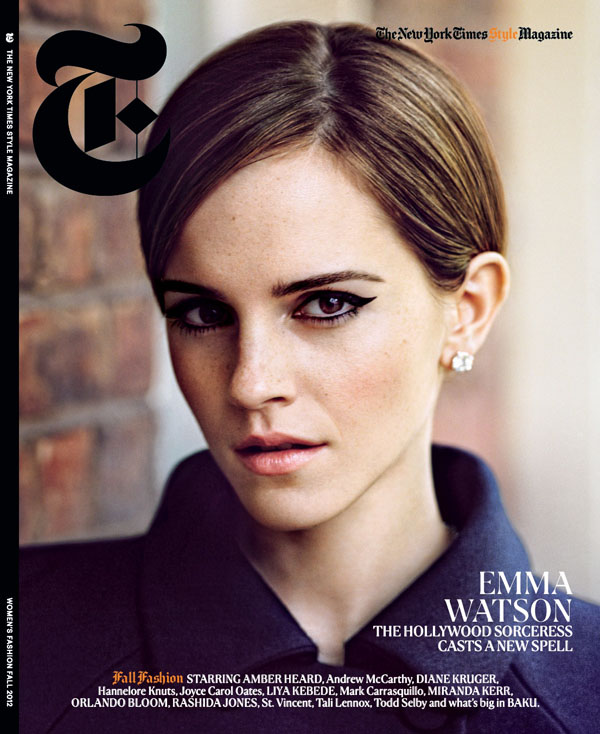 Emma Watson for The NY Times T Style Magazine