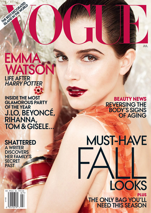 Emma Watson For Vogue – Pictures