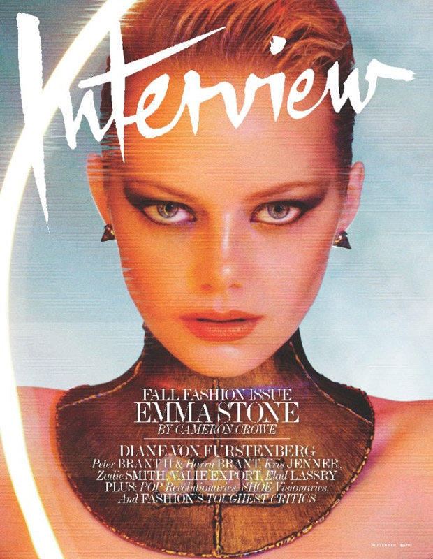Emma Stone: Interview Magazine, September '12