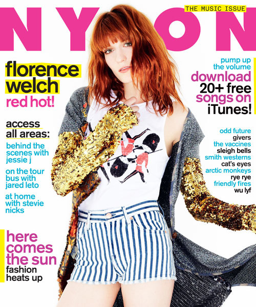 Florence Welch For Nylon Magazine – Pictures