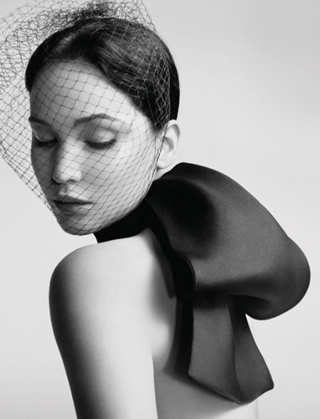 Jennifer Lawrence for Miss Dior Campaign