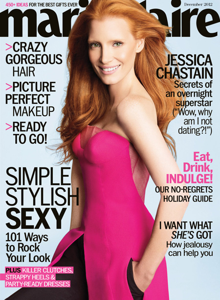 Jessica Chastain for Marie Claire Magazine