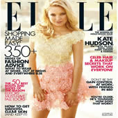 Kate Hudson On Cover Of Elle