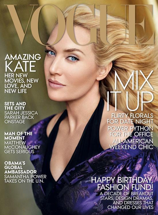 Kate Winslet for Vogue Magazine