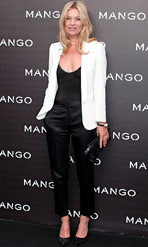 Kate Moss Is New Face Of Mango