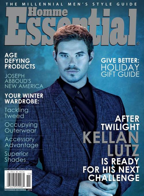 Kellan Lutz for Essential Homme Magazine (NSFW)