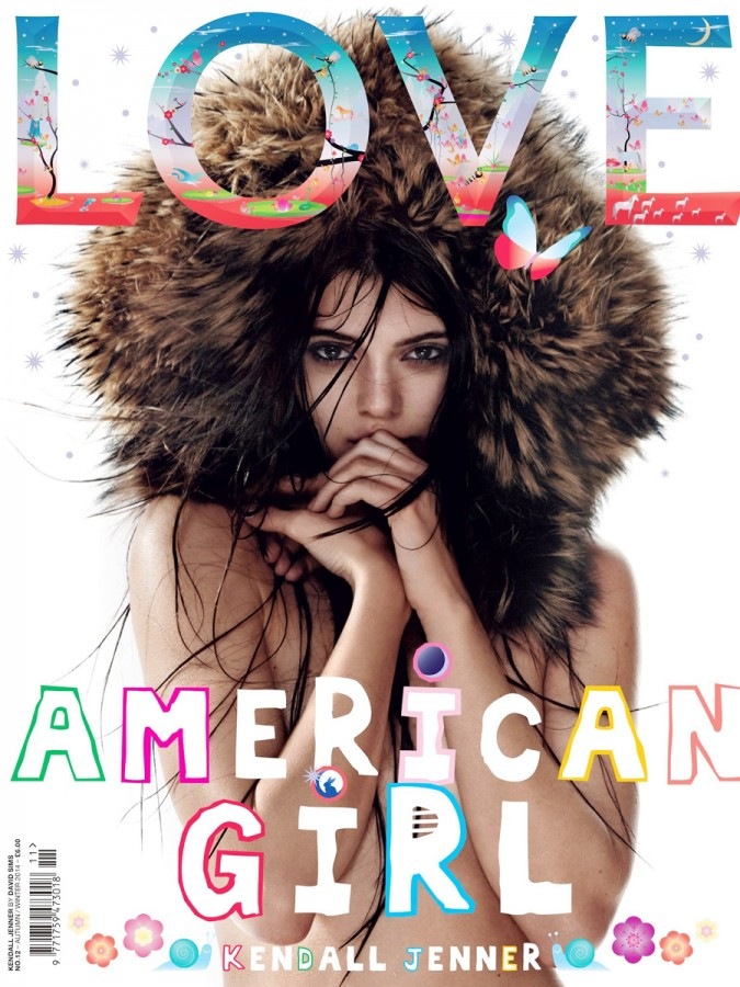 Kendall Jenner Covered Topless in Love Magazine – All The Pictures