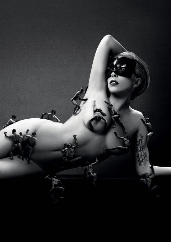 Lady Gaga's 'Fame' Fragrance Ad Campaign