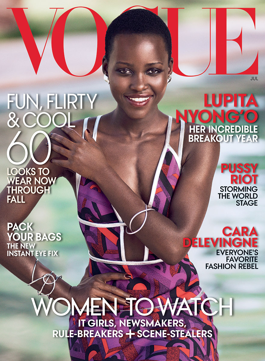 LUPITA NYONG'O FOR VOGUE MAGAZINE