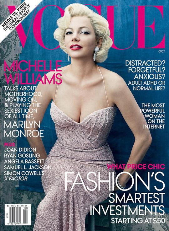 Michelle Williams For Vogue