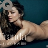 Miranda Kerr Covered Naked in GQ UK