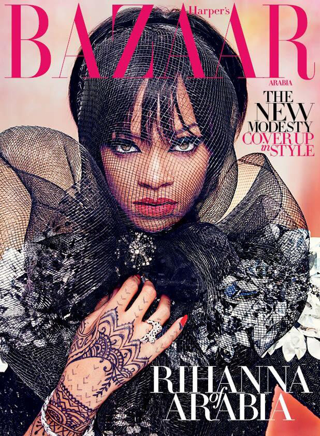 RIHANNA FOR HARPER'S BAZAAR ARABIA