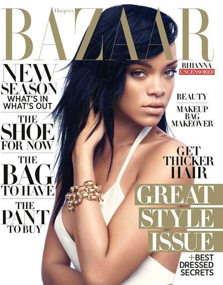 Rihanna for Harper's Bazaar
