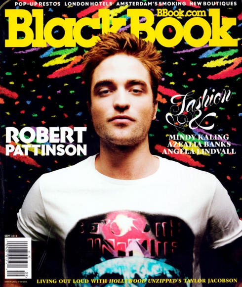 Robert Pattinson for Blackbook Magazine
