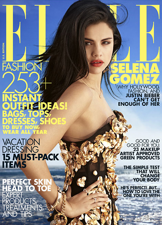 Selena Gomez for ELLE Magazine