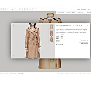 Stella McCartney Launches Shopping Website