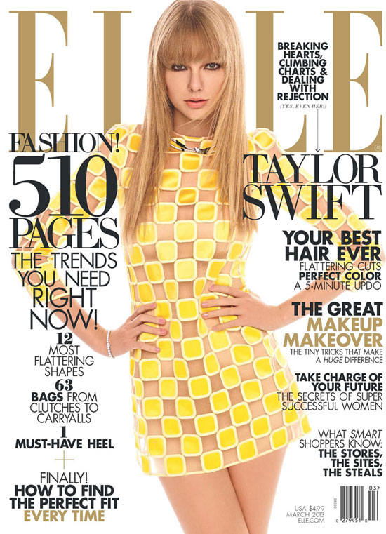 Taylor Swift for ELLE Magazine