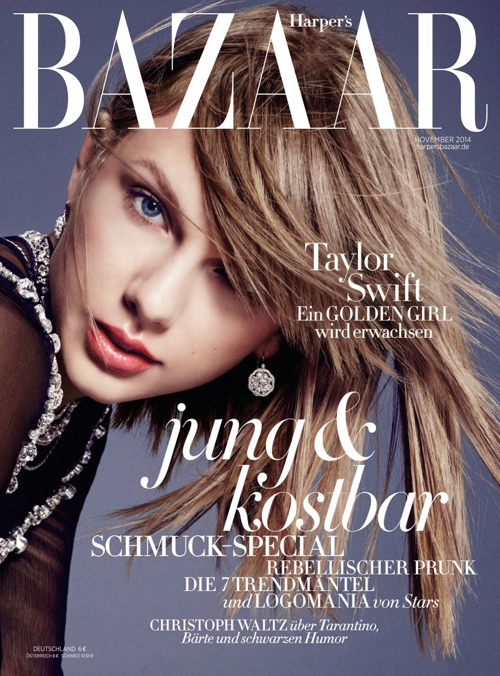 TAYLOR SWIFT FOR HARPER'S BAZAAR GERMANY