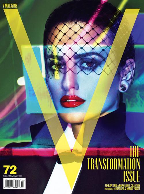 Penelope Cruz For V Magazine