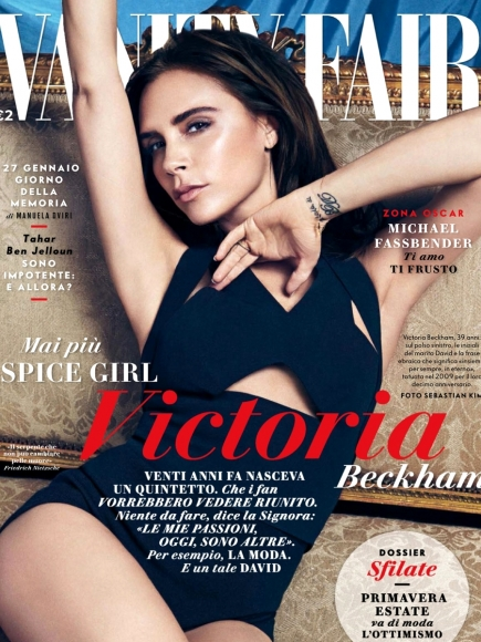 Victoria Beckham for Vanity Fair January 2014