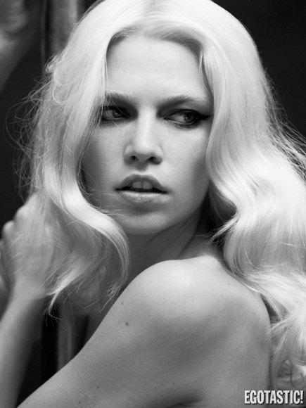 Aline Weber Topless Black and White Shoot for S/Nº Magazine Winter 2012