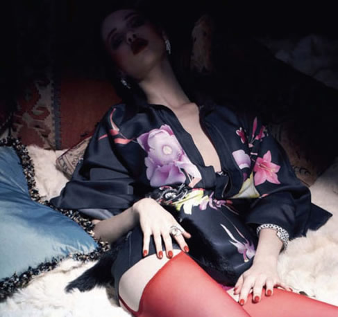 Anais Pouliot: Vogue Russia June '11 (NSFW)