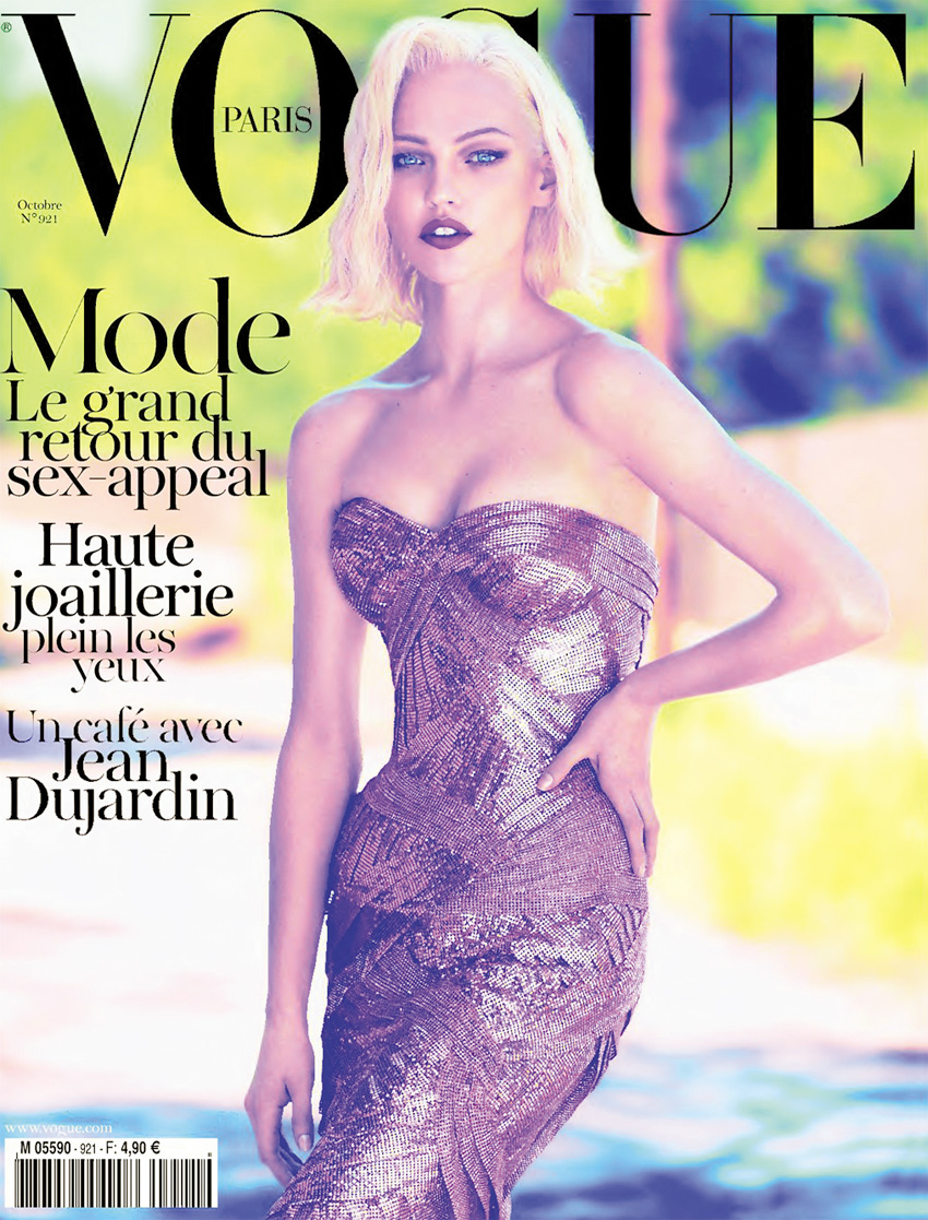 Anja Rubik & Sasha Pivovarova: Vogue Paris October '11 (NSFW)