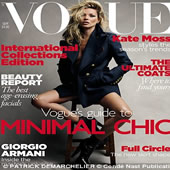 Supermodel Kate Moss Graces The Cover Of Vogue For The 30th Time – In Pictures