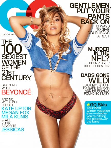 Beyonce Photoshoot for GQ February 2013
