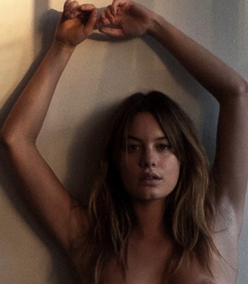 Camille Rowe Naked Outtakes for Terry Richardson Photoshoot