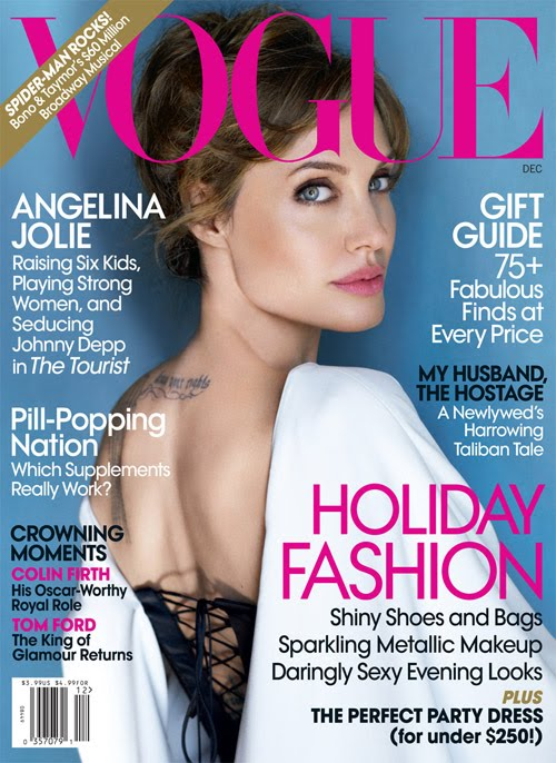 Angelina Jolie For Vogue – Pictures