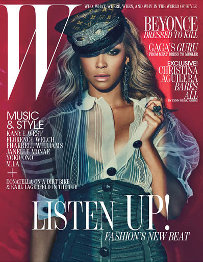 Beyonce For W Magazine – Pictures