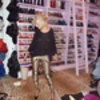 Christina Aguilera Shows Us Round Her Closet Semi-Naked