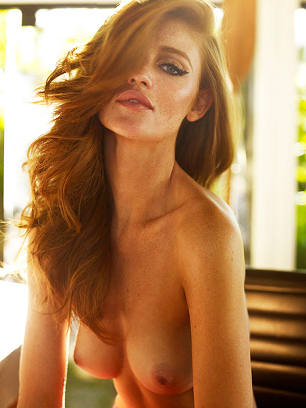 Cintia Dicker Topless Photoshoot from Status Magazine in Brazil