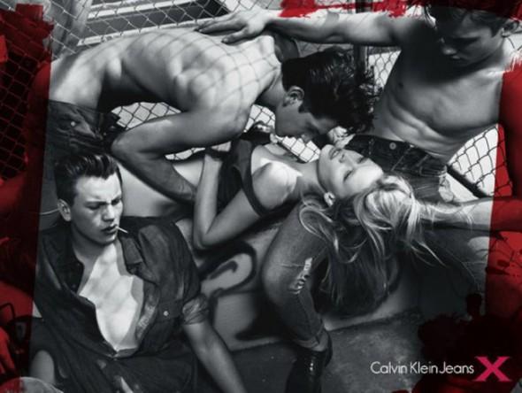 Lara Stone Advert For Calvin Klein Banned In Australia