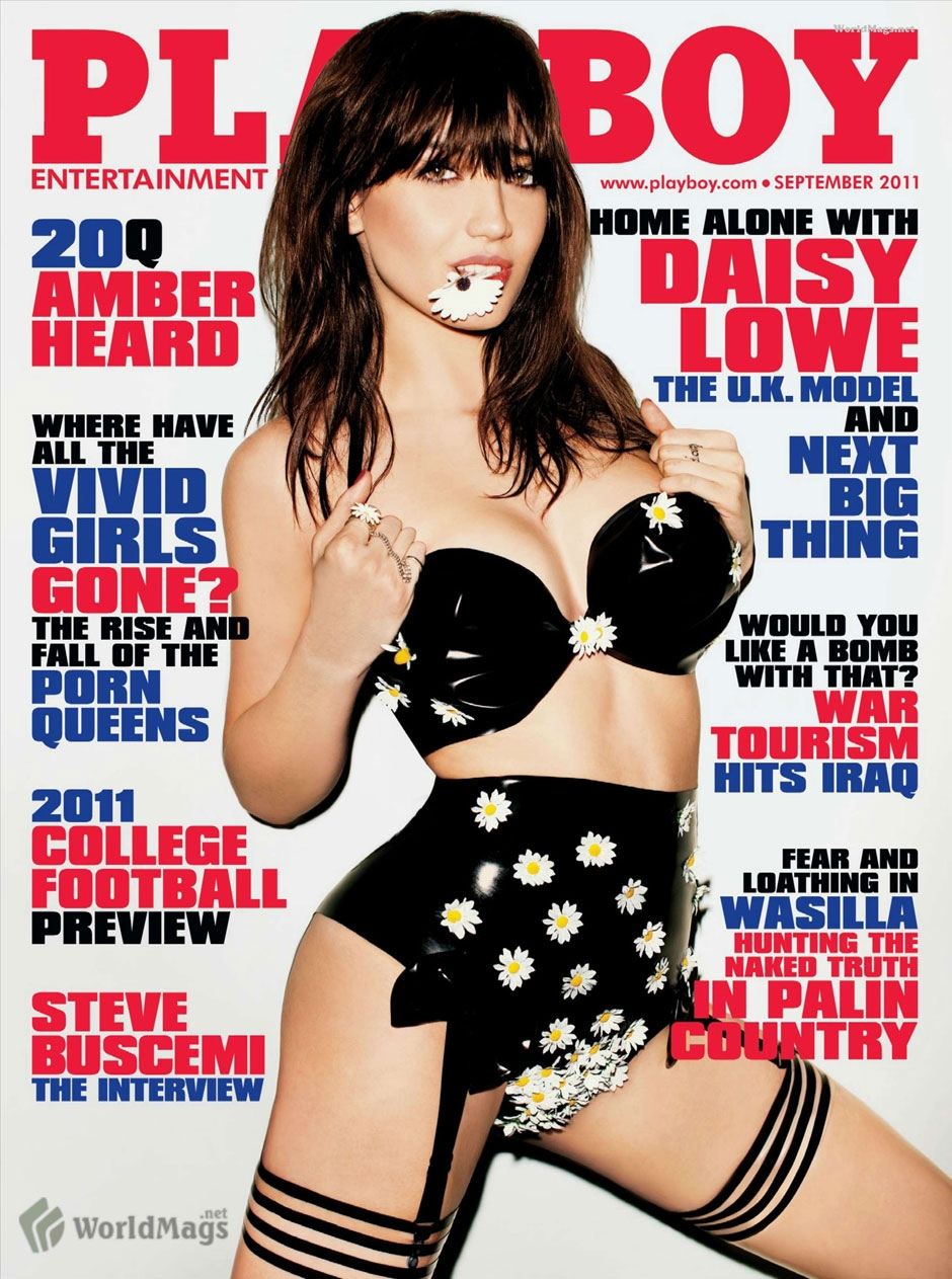 Daisy Lowe For Playboy – Pictures (NSFW)