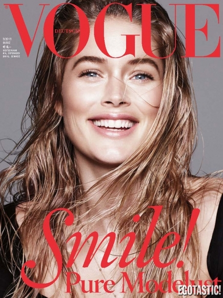 Doutzen Kroes Super Hot Shoot in Vogue Germany March 2013