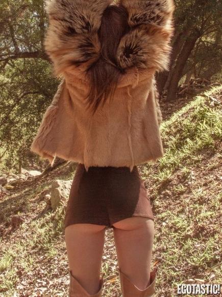 Emily Ratajkowski Topless in Galore Magazine 2013