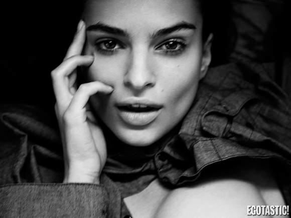 Emily Ratajkowski Naked for Simply Magazine Shoot 2013