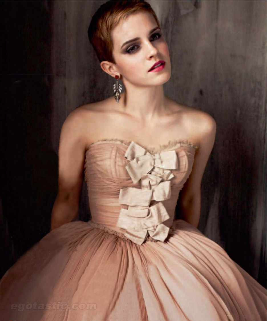 Emma Watson For Elle Russia – Pictures