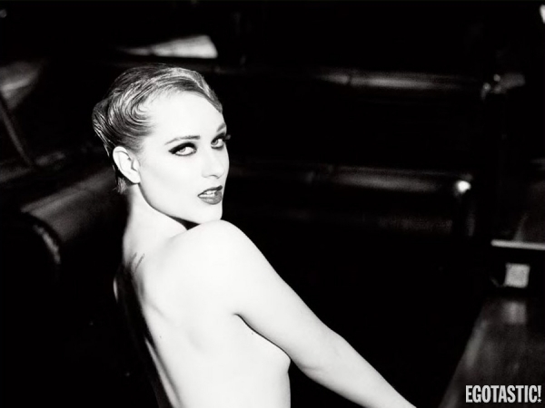 Evan Rachel Wood Topless in Flaunt Magazine
