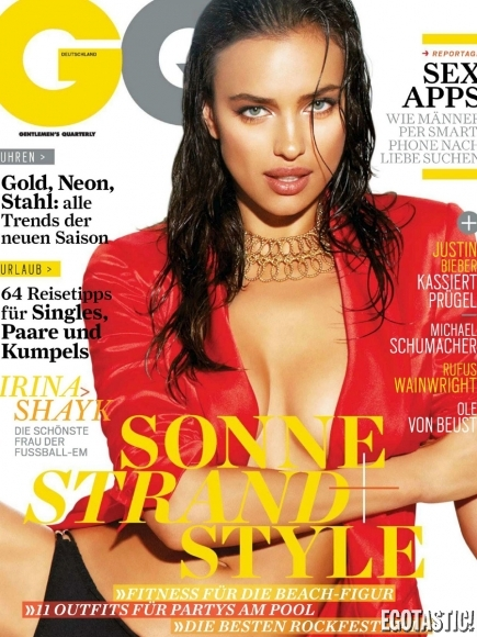 Irina Shayk for German GQ