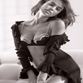 Ronaldo's Girlfriend Irina Shayk Smoulders For Lingerie Brand Intimissimi – Pictures