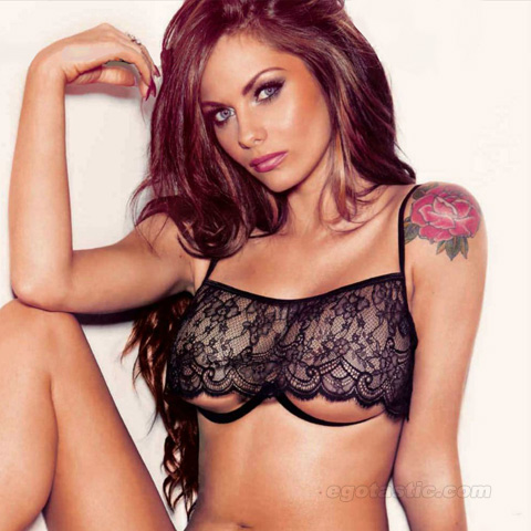 Jessica-Jane Clement Lingerie Shoot For Maxim Russia – Pictures