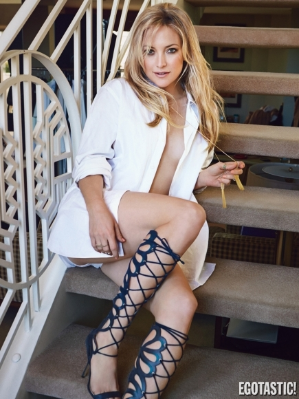 Kate Hudson in Glamour Magazine April 2013