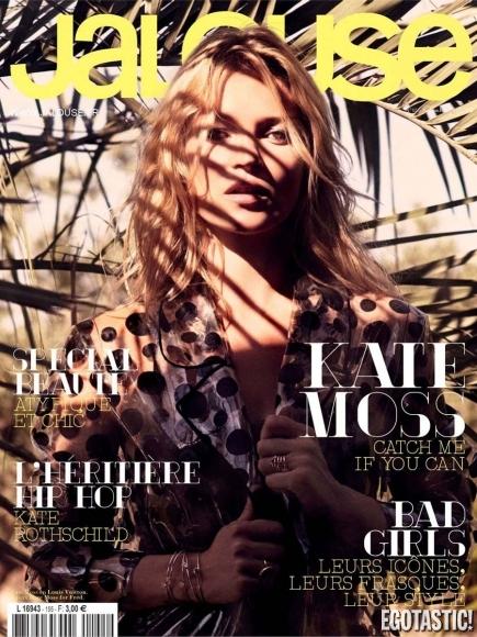 Kate Moss Photoshoot in Jalouse France November 2012