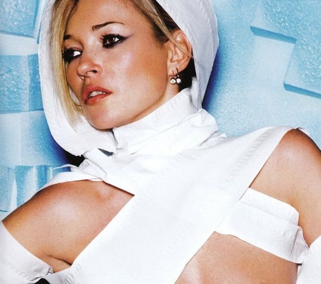 Kate Moss Topless And Bottomless As Shot By Mario Testino