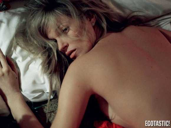 Kate Moss Naked in Love Magazine January 2013 (NSFW)