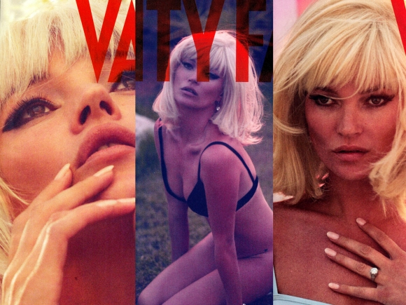 Kate Moss Topless in Vanity Fair Magazine December 2012