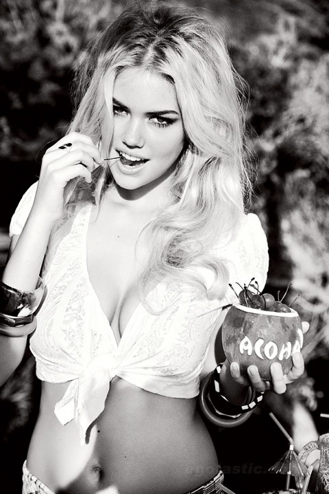 Kate Upton Is Super Hot In New Guess Promotional Ad Campaign – Pictures